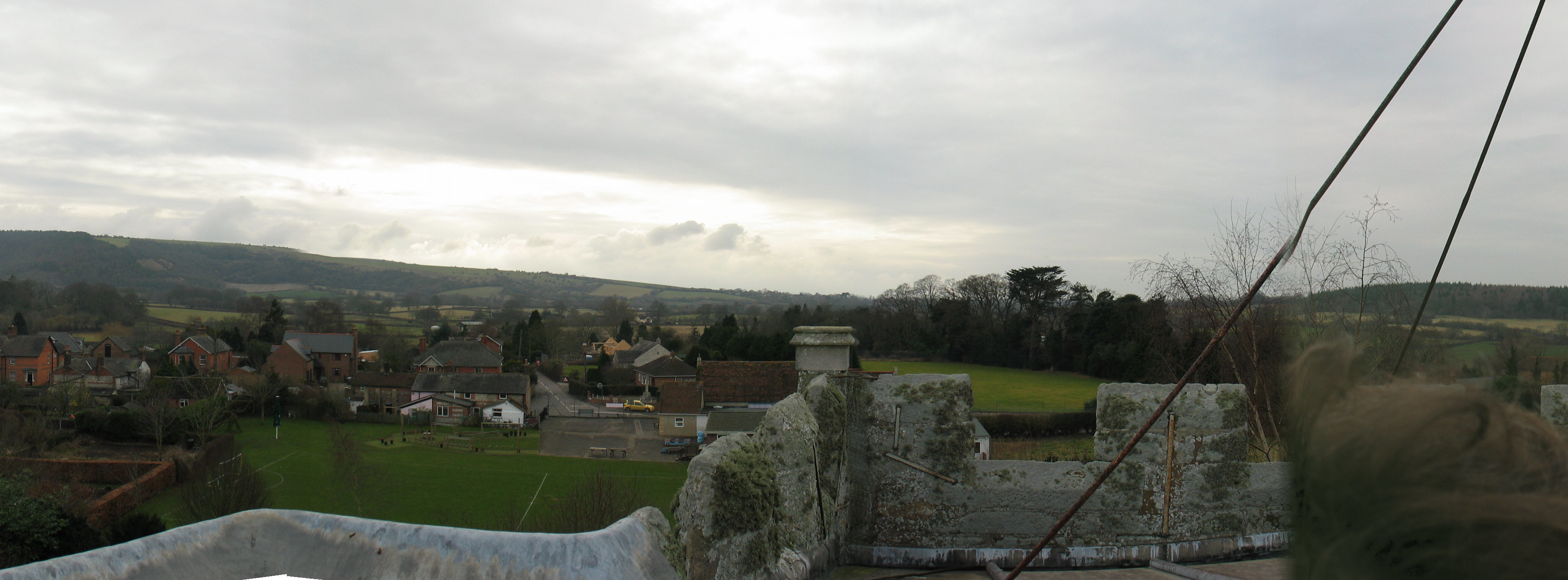 South View from Church Tower