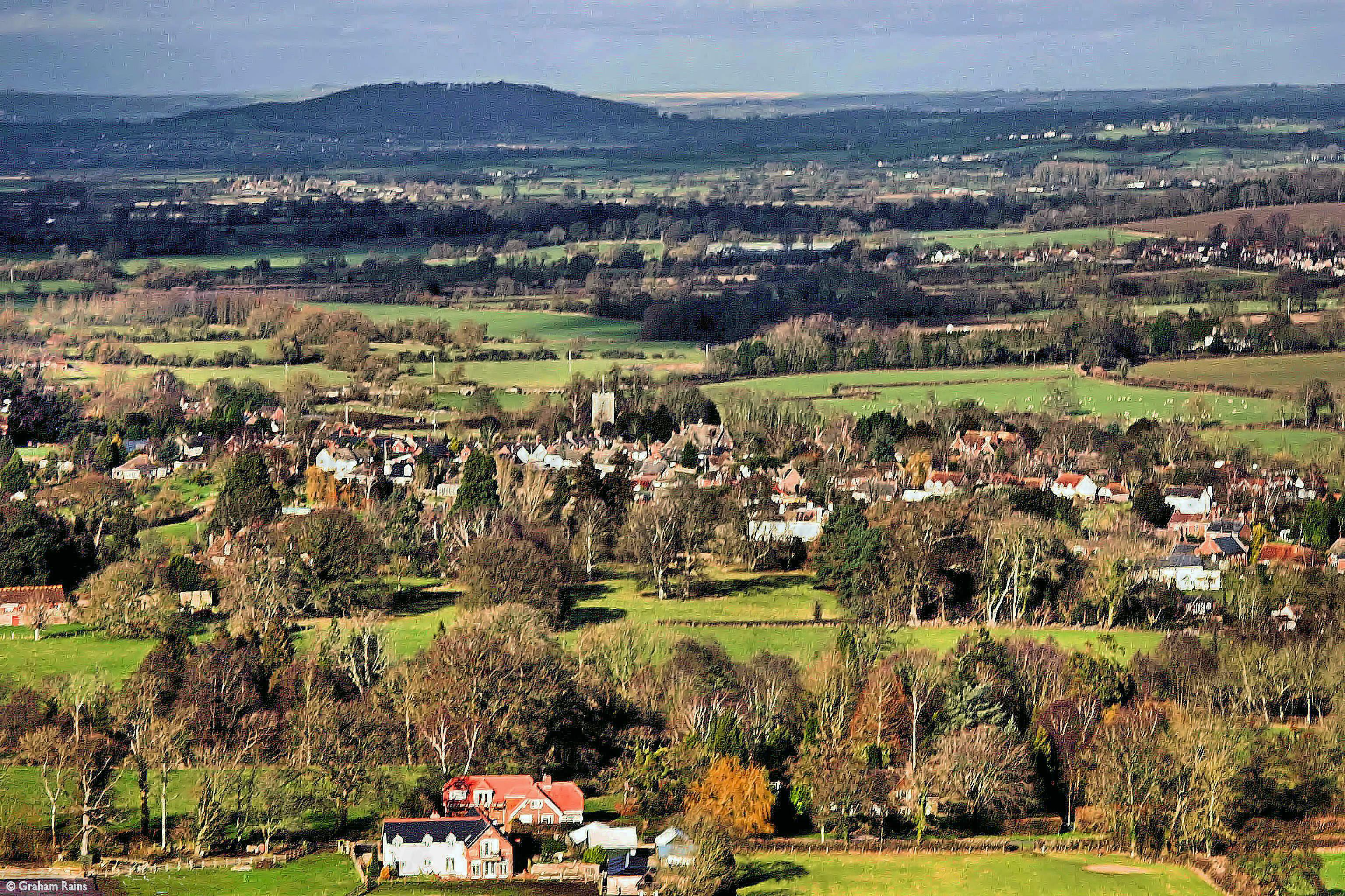 Looking over Shillingstone